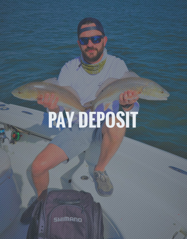 Pay Fishing Charter Deposit
